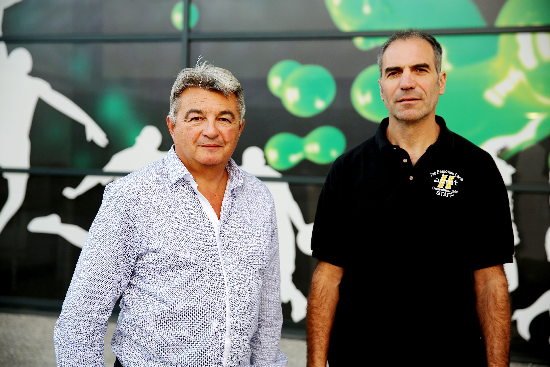 Thierry PELLARIN et Lionel PRALONG